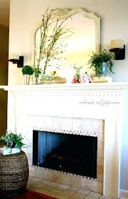 Decorating A Fireplace Mantel How To Decorate Mantle Ideas Inspirations Spring Home Decor