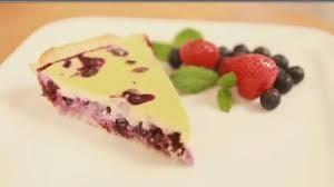 kalorienarmer heidelbeer zitronen quarkkuchen kochbar de