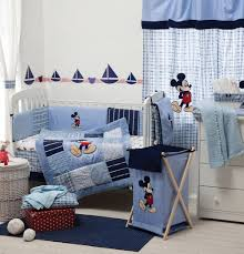 Mickey Mouse Bathroom Set Amazon by Amazon Com Blue Mickey Mouse Crib Bedding Collection Accessory