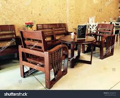 Wooden Furniture Coffee Shop Cafe Chairs Stock Photo (Edit Now ... Vintage Old Fashioned Cafe Chairs With Table In Cophagen Denmark Green Bistro Plastic Restaurant Chair Fniture For Restaurants Cafes Hotels Go In Shop And Table Isometric Design Cafe Vector Image Retro View Of Pastel Chairstables And Wild 36 Round Extension Ding 2 3 Piece Set Western Fast Food Chairs Negoating Tables Balcony Outdoor Italian Seating With Round Wooden Wicker Coffee Stacking Simply Tables Lancaster Seating Mahogany Finish Wooden Ladder Back