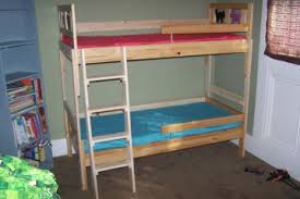 Svarta Bunk Bed by Mydal Bunk Bed To Single Beds Ikea Hackers