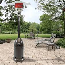 Living Accents Patio Heater Inferno standing patio heaters you u0027ll love wayfair