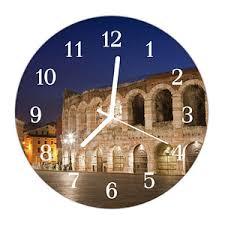 verona italien arena architektur antik große wanduhr