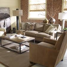 Ethan Allen Sofa Bed by Living Room Bedroom Brown Leather Sofa With Ethan Allen