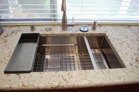 Franke Sink Bottom Grid by Franke Sink Kitchen Midcentury With Caesarstone Countertops Island