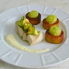 recette de cuisine avec du poisson poisson blanc au court bouillon maison sauce crémeuse au citron