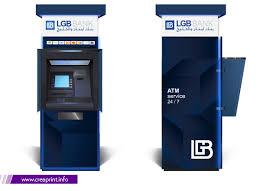 ATM Design Branding Creative Model 3D Display Stand