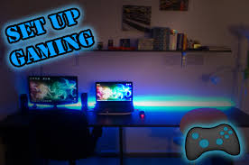 bureau pc gamer pc gaming setup