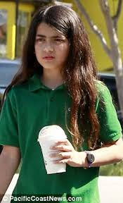 Cooling Down Prince And Blanket R Had Joined Their Sister At Starbucks