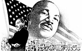 Printable Martin Luther King Jr Coloring Pages Worksheets To Print Within Page