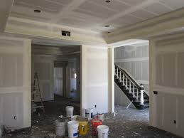 Hanging Drywall On Ceiling Tips by Drywall And Texture Green Button Homes