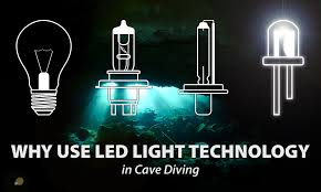 led lighting in technical diving sdi tdi erdi