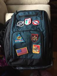 Bling A Bag If Youre Giving New Travel To Friend Give It More Broken In Feeling By Adding Some Patches You Can Get Them Just About