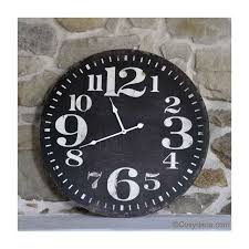 horloge de cuisine style bistrot vintage