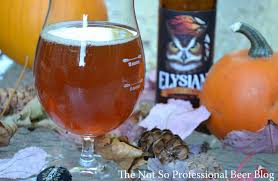 Elysian Pumpkin Ale Festival by The Not So Professional Beer Blog Review Night Owl Pumpkin Ale