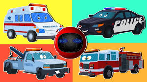 100 Trucks Videos For Kids Zobic Emeregency Vehicles Learn Vehicles Toy Cars And