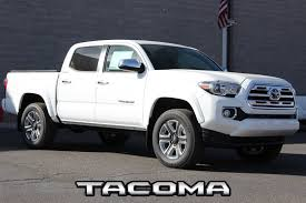 New 2018 Toyota Tacoma Limited Double Cab 5' Bed V6 4x4 AT Double ...