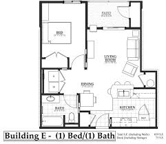 Bathroom Floor Plans With Washer And Dryer by Building E 1 Bedroom The Flats At Terre View