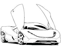 Cars Coloring Pages Disney To Print Sports Car Sheets Free Printable
