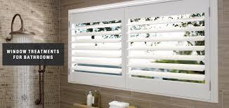 Design Bathroom Window Treatments by Blinds U0026 Shades For Bathrooms East Coast Designs Inc