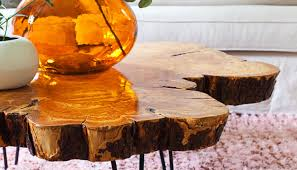coffee tables live wood coffee table charismatic live edge olive