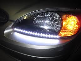 led strips headlights taurus car club of america ford taurus forum