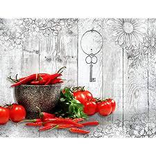 runa fototapete küche gewürze modern vlies wohnzimmer schlafzimmer flur made in germany braun bunt 9431010c