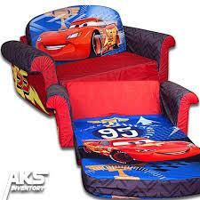 Marshmallow Flip Open Sofa Canada by Disney Cars Flip Open Sofa Convertable Couch Lightning Mcqueen