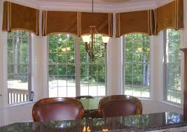 Bay Window Valances Traditional Dining Room Other By Rh Houzz Com Curtains Elegant