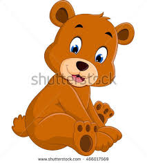 Cartoon Funny Bear Stock Vector Royalty Free 466017569