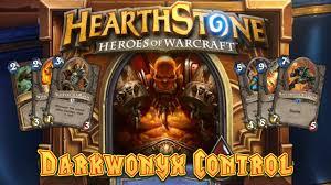 hearthstone deck spotlight darkwonyx control warrior 1 legend