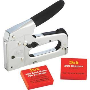 Do it 319988 Brad/Staple Gun Kit