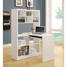 White Computer Desk Wayfair by Furniture Magnificent Corner Desk For Two People Triangle