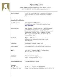 Sample Resume With No Work Experience New College Student Lovely