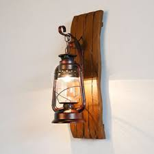 antique metal wood rustic wall sconce lantern wall l fixture