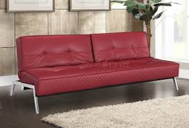 Beddinge Sofa Bed Slipcover Red by Red Leather Sofa Sleeper 76 With Red Leather Sofa Sleeper