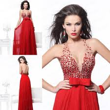 popular high low back chiffon red dress buy cheap high low back