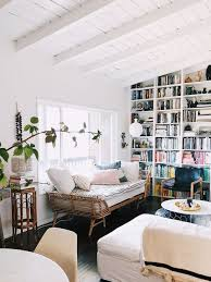 100 Modern Home Decorating Bohemian Modern Home Decor With Exposed White Beamed Ceiling