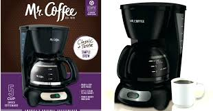 Coffee Cappuccino Maker Walmart 5 Cup Coffeemaker Only Mr Espresso And