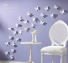 3d 55cm Vivid Butterfly Wall Sticker Decor Pop Up Home Room Art Decorations Baby Bedroom Backdrop Inexpensive Decals Inspirational
