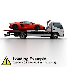 100 3d Tow Truck Games Mitsubishi Fuso Canter 2011 3D Model 35 Max Obj Fbx Dae