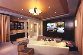 Home Theater Painting Ideas Contemporary With Cinema Terraced Seating