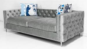 inside out new deep sofa in bristol elephant grey velvet by