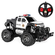 100 Kids Monster Trucks Best Choice Products 124 Scale RC SWAT Remote Control Police Car Truck Toy W Lights Climbing Style Tires