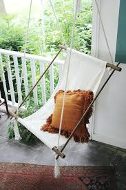 Diy Hanging Chair Top Chairs Projects To Try This Spring Wood Hammock Stand