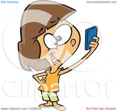 Selfie clipart cell phone 7