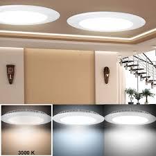 etc shop led panel 2er set decken panel einbau led strahler flach esszimmer le küchen alu leuchte kaufen otto