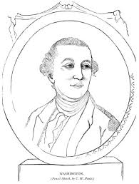 Presidents Day Coloring Pages George Washington