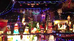 Christmas Tree Lane Modesto Ca by House With Crazy Christmas Lights Youtube