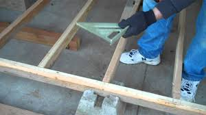 Floor Joist Spacing Shed by Episode 2 Foundation And Floor Framing Youtube